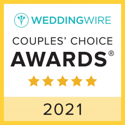 WEDDINGWIRE Couple's Choice Awards 2021