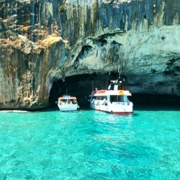 Sardinia Boats in Cave